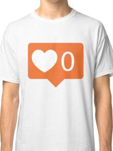 No love notification Classic T-Shirt