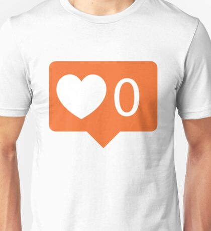 No love notification Unisex T-Shirt