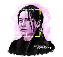 Sameen Shaw (Person of Interest) Photographic Print