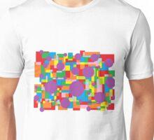 Farben und Formen als abstrakte Kunst Unisex T-Shirt