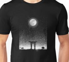 Itsukushima moon light Unisex T-Shirt