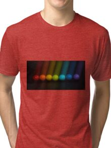 Sweet Candy Rainbow Tri-blend T-Shirt