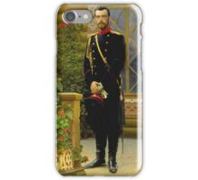 Ilya Repin - Nikolai II iPhone Case/Skin