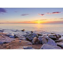 Baltic sunrise Photographic Print