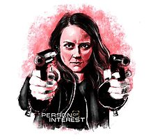 Root (Person of Interest) Photographic Print