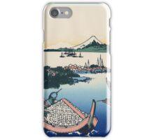 Hokusai Katsushika - Tsukuda Island in Musashi Province iPhone Case/Skin