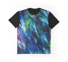 Electric Blues Graphic T-Shirt