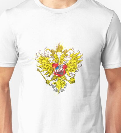 Stylized coat of arms of Russia Unisex T-Shirt