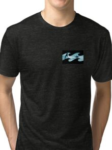 Summer waves Tri-blend T-Shirt