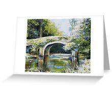 Derrybawn bridge Greeting Card