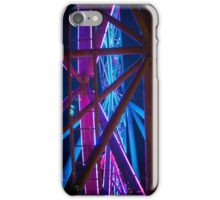 Abstract star wheel iPhone Case/Skin