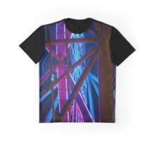 Abstract star wheel Graphic T-Shirt