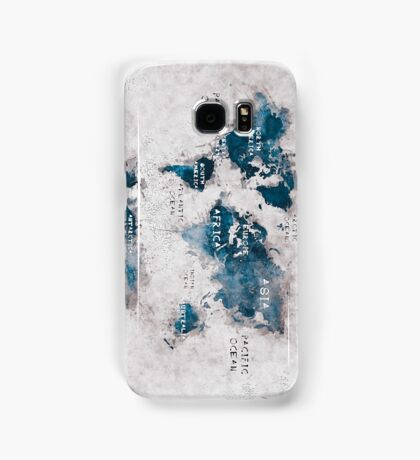world map 13 Samsung Galaxy Case/Skin