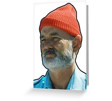 Bill Murray as Steve Sizzou  Greeting Card