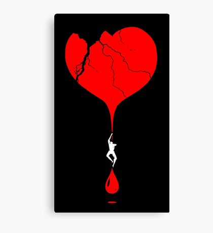 heart climber Canvas Print