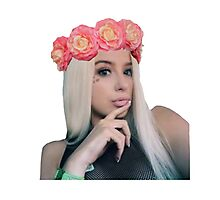 Tana Mongeau Flower Crown (#1)  Photographic Print