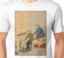 Anonymous - James Watt - Woodcut - Circa 1875 - Woodcut Unisex T-Shirt