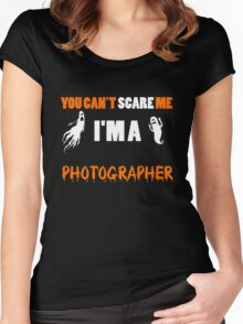 Photographer - You Can't Care Me I'm A Photographer T-shirts Women's Fitted Scoop T-Shirt