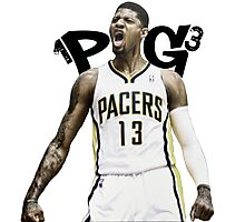 "Paul George ""PG-13"" Photographic Print"