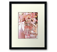 Fashion Collage #10 Framed Print