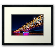 The Bridge Of Light Framed Print