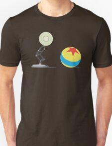 Desk Lamp and Ball  Unisex T-Shirt