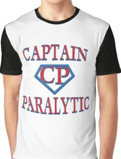 Captain Paralytic Graphic T-Shirt