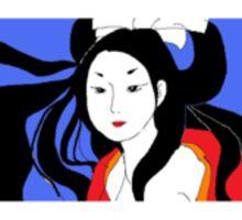 black eye girl Sticker