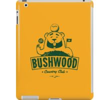 Bushwood (Dark) iPad Case/Skin