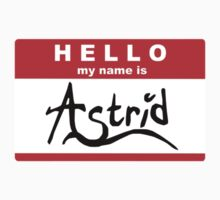 HELLO my name is: ASTRID Kids Clothes