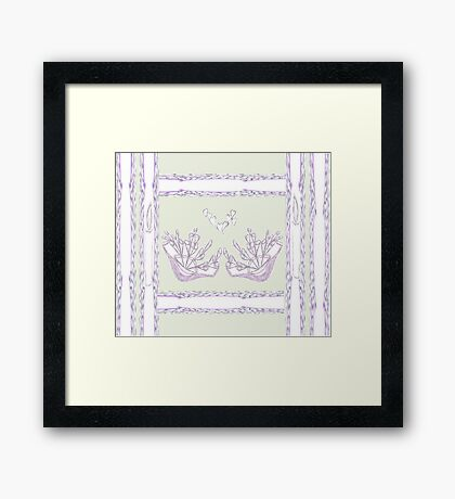 Basket of Love Framed Print