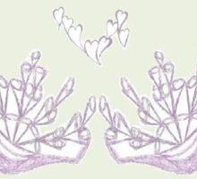 Basket of Love Sticker