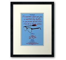 The Talented Mr Ripley Framed Print