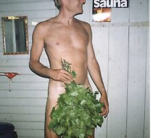 Sauna by George Krause