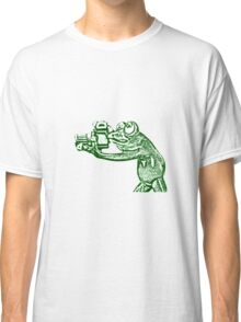Frog photographer Classic T-Shirt