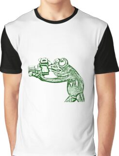 Frog photographer Graphic T-Shirt