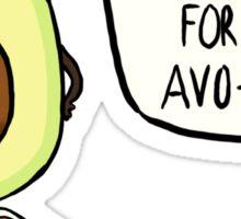 Avocado- Avo-cardio Sticker