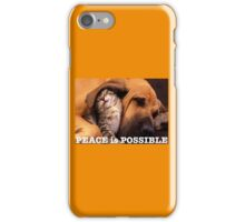 Peace is possible iPhone Case/Skin
