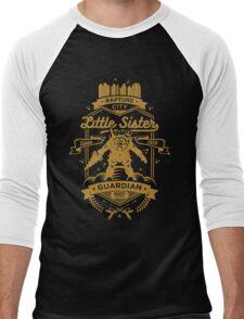 Little Sister Protector Gold Men's Baseball ¾ T-Shirt