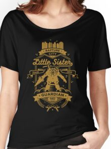 Little Sister Protector Gold Women's Relaxed Fit T-Shirt
