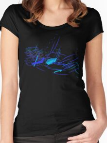 Forever Falling - Abstract 2 Women's Fitted Scoop T-Shirt