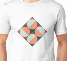 Modernist Geometric Tiles Unisex T-Shirt
