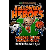 Halloween Heroes! Photographic Print