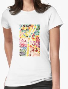 Tiles Womens Fitted T-Shirt