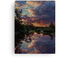 Sunset Mirror Canvas Print