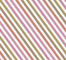 Pink Roses in Anzures 2 Stripes 1A by Christopher Johnson