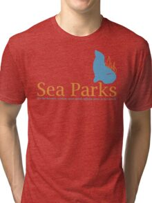 IT Crowd Sea Parks Tri-blend T-Shirt