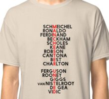 Manchester United Greats Past & Present Classic T-Shirt