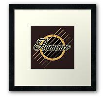 flamenco music Framed Print
