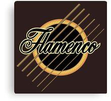 flamenco music Canvas Print